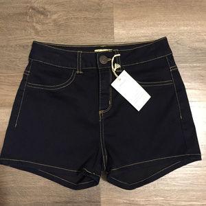 Dark Blue Size 1 Shortie Shorts NWT